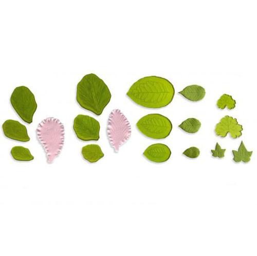 Set De Texturizadores De Hojas Y Petalos De Flores Gaudir