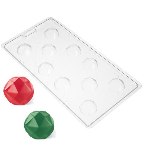 Molde de pl stico para bombones con forma de diamantes - Plastico para moldes ...